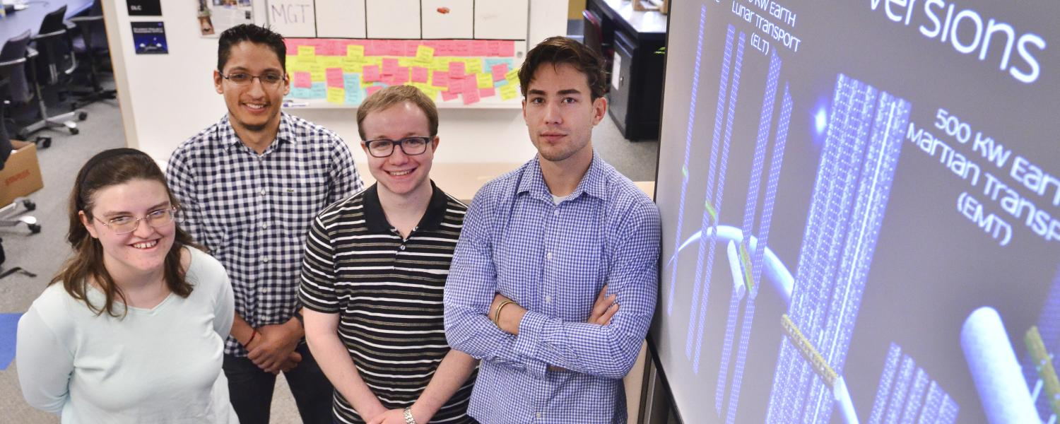CU Boulder finalist team for NASA's BIG Idea Challenge