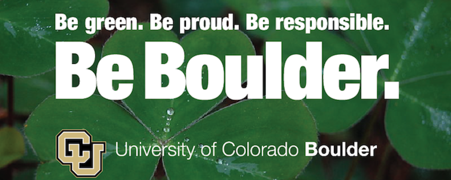 Be. green. Be proud. Be responsible
