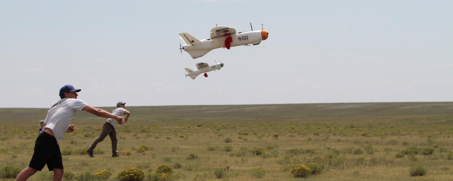 Drones at Pawnee National Grassland
