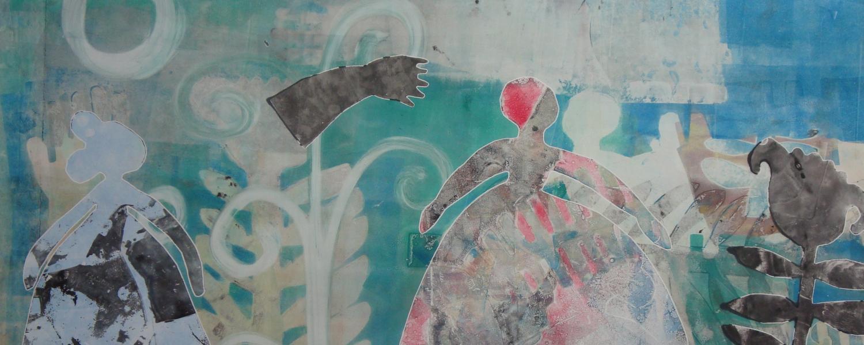 'Winter Morning' by Melanie Yazzie