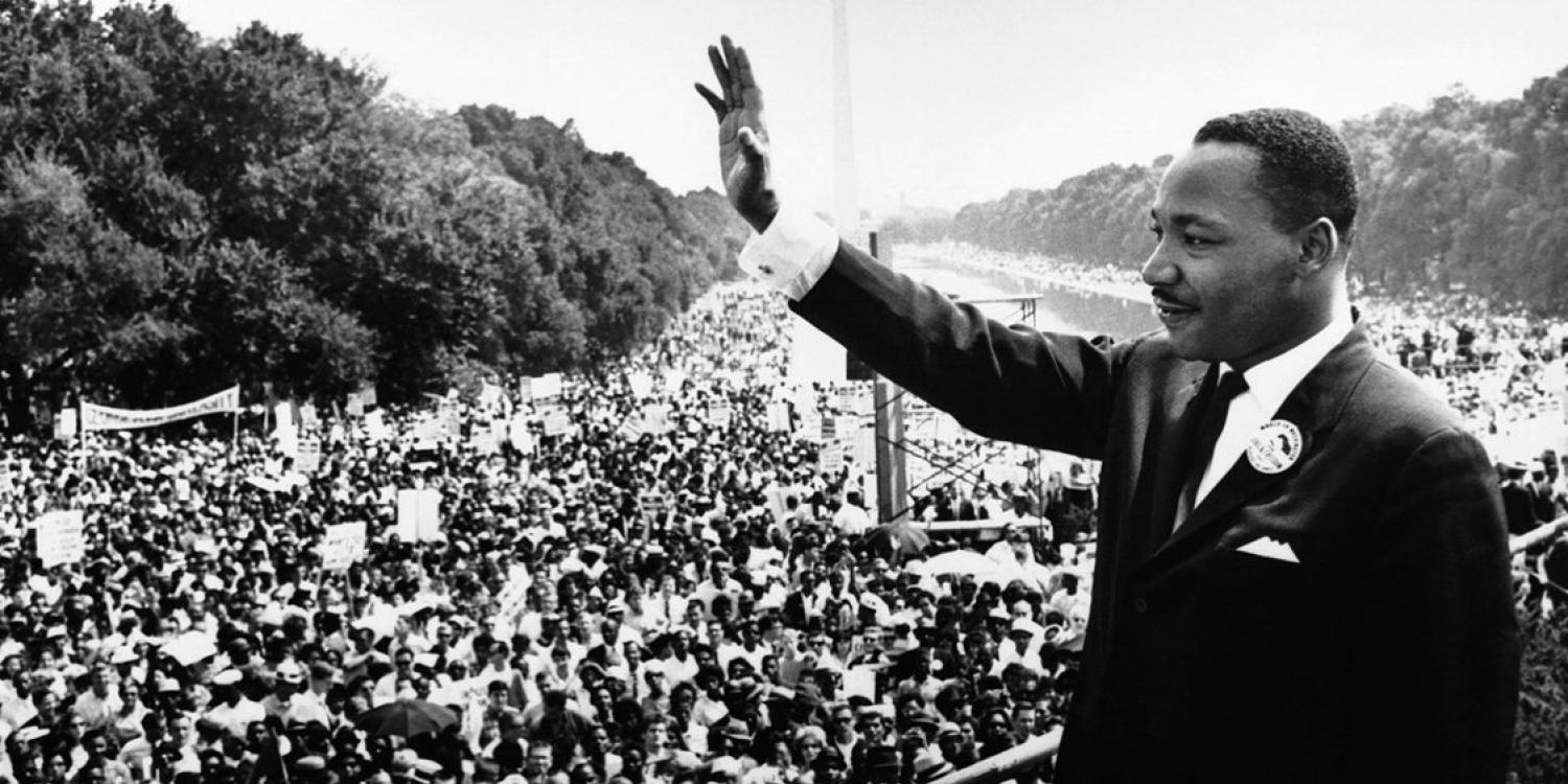 Martin Luther King, Jr. at the National Mall