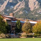 Wardenburg Health Center building on the CU Boulder campus.