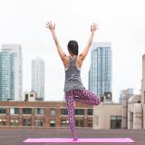 A person doing yoga (Photo from Pexels)