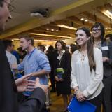 Students meet employers at 2015 career fair