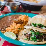 tacos and other Mexican style food