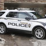 A CU Boulder police vehicle
