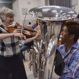 Cleveland Orchestra members at CU Boulder