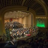 CU Holiday Festival in Macky Auditorium