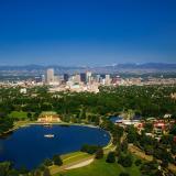 Aerial photo of Denver