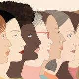 A collage of diverse women