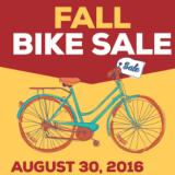 Fall Bike Sale