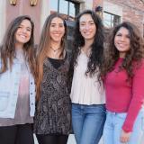 Keren Megory-Cohen, Maggie Patton, Susie Gomez and Carolyn Castanon