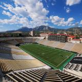 Folsom Field on the CU Boulder campus