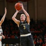 Colorado women's basketball against Oregon State