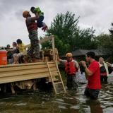 National Guard rescues stranded residents in flooded area of Houston