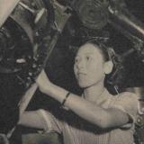 A young Hisako Koyama