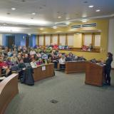 Mini Law School session at Wittemyer Courtroom