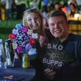 Graduates from the class of 2020 and 2021 gather for a celebratory evening at the Night on Norlin event on Sept. 17, 2021. (Photo by Glenn Asakawa/University of Colorado)