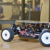 Autonomous vehicle using Ninja Car platform