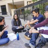 Students in Aquetza summer enrichment program