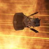 Artist's depiction of the Parker Solar Probe
