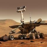 A robot on Mars