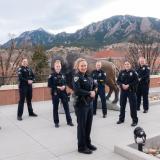 Female CU Boulder police officers