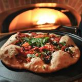 Pizza made with locally sourced ingredients at the C4C