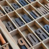 Print production tools, letters