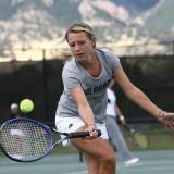 CU tennis player