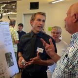 Environmental design and environmental studies students present work at open house