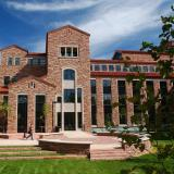 Photo of Colorado Law's Wolf Law building