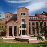 Wolf Law building on the CU Boulder campus