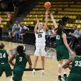 CU Boulder Women's Basketball team vs. George Mason