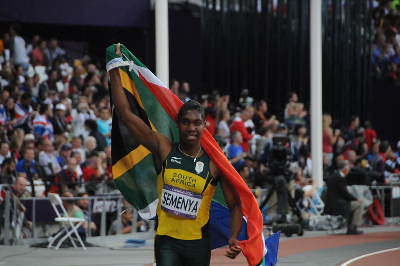 Caster Semenya at the 2012 London Olympics