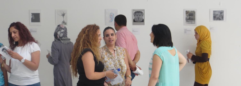 West Bank art exhibit