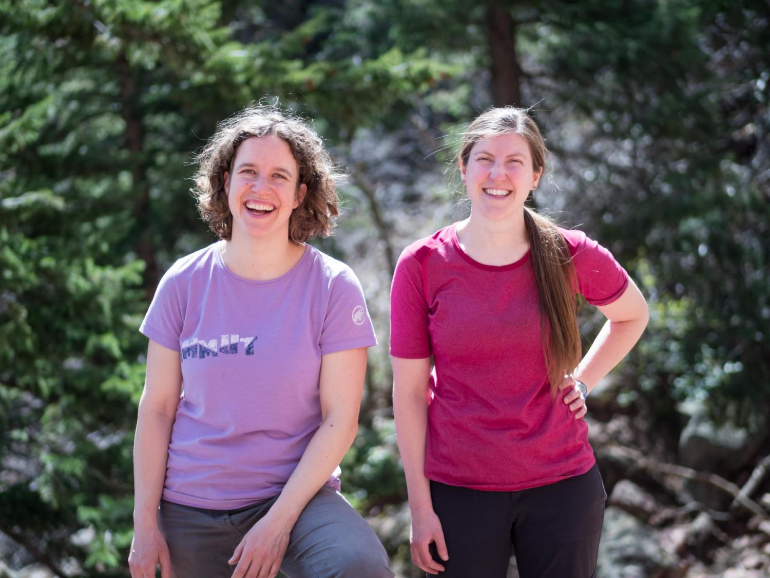 Co-founders of Girls on Rock