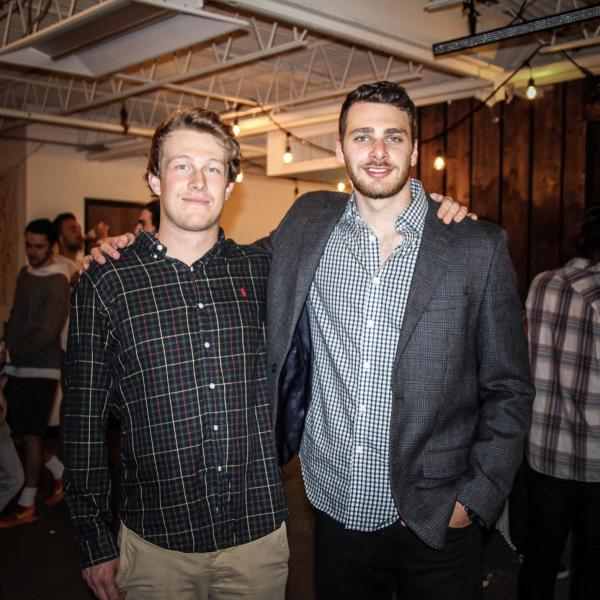 Nathan Moses (left) and Jake Hurwitz (right)