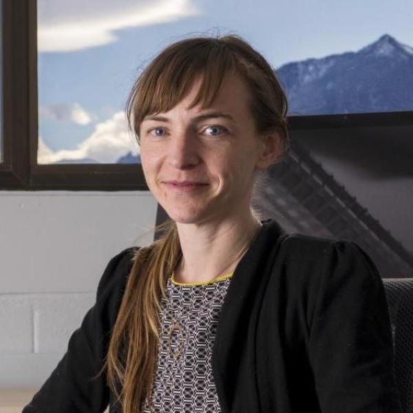 Headshot of June Gruber