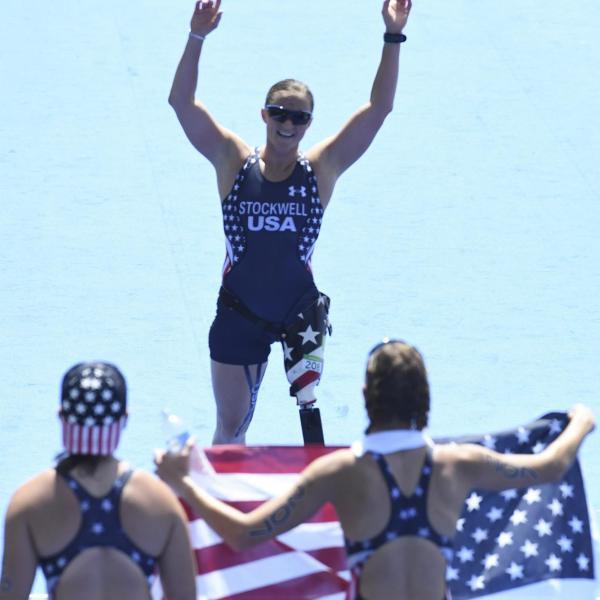 Melissa Stockwell at Rio Paralympics