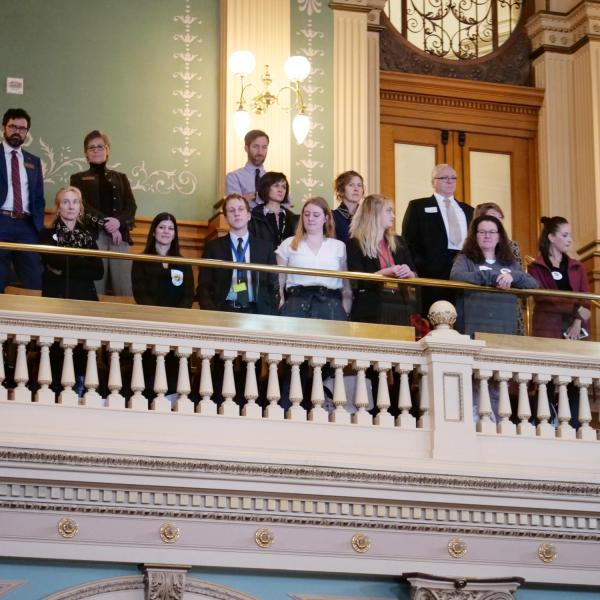 Scenes from CU Advocacy Day at the Capitol 2019. Photo by Glenn Asakawa.
