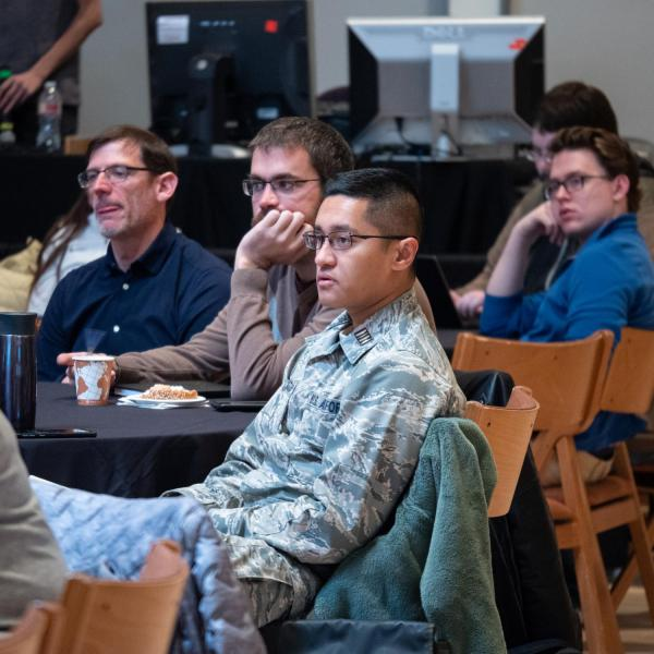 Speakers, staff and participants immerse themselves in the CU Boulder  2020 Spring Diversity Summit. (Photo by Glenn Asakawa/University of Colorado)