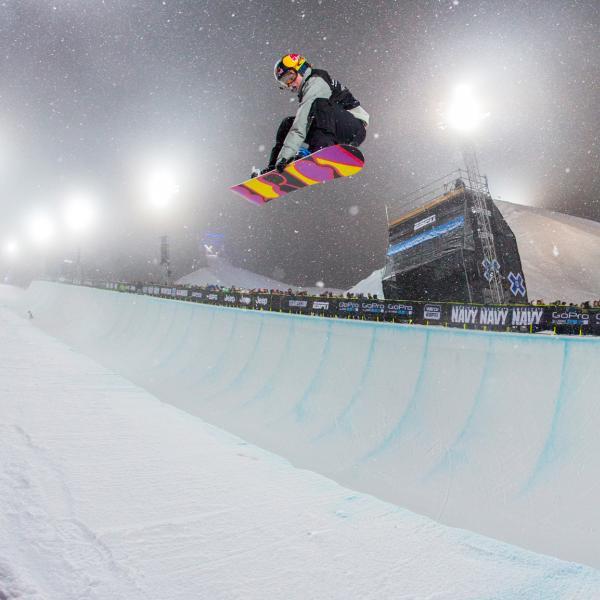 U.S. snowboarder Arielle Gold, 2018 bronze medalist in the halfpipe