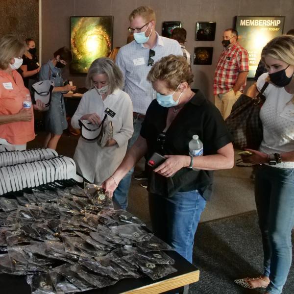 Members of the Colorado Competitive Council visit the Fiske Planetarium. (Photo: Casey A. Cass/University of Colorado)