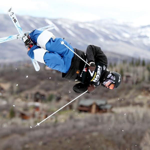Freestyle skier Casey Andringa