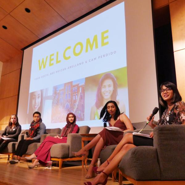 The Own It: A Conversation about Women in the Workplace session. Photo by Casey A. Cass.