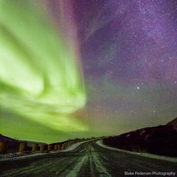 Northern Lights in Kangerlussuaq, Greenland (Photo by Blake Pedersen)