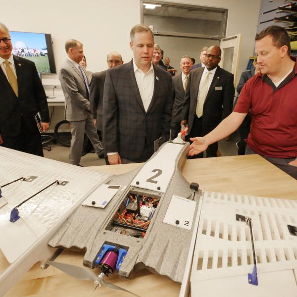 NASA Administrator explores future of aerospace engineering at new campus building