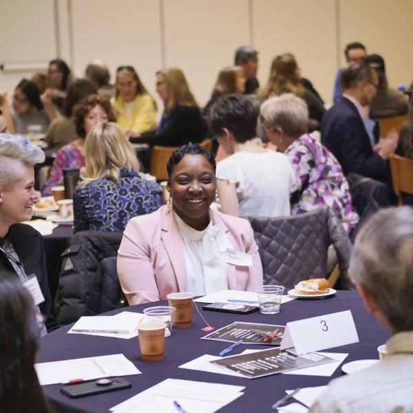 Scenes from the spring Diversity and Inclusion Summit. Photo by Patrick Campbell.