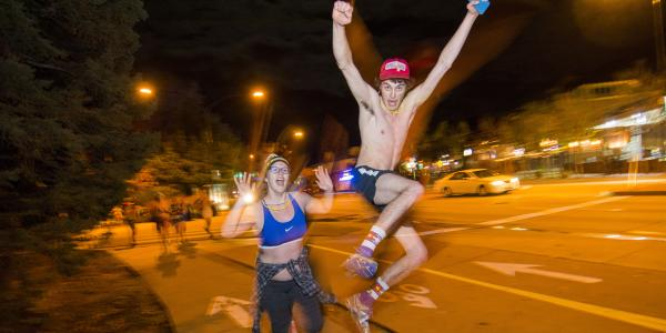 Students get nearly naked for charity | The North Wind